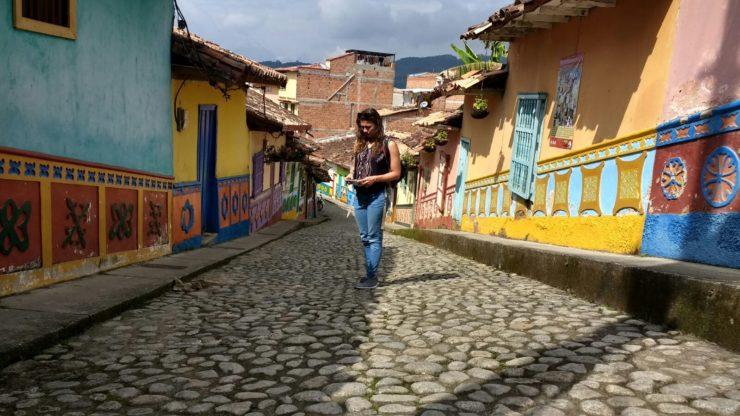 Ik in Guatapé